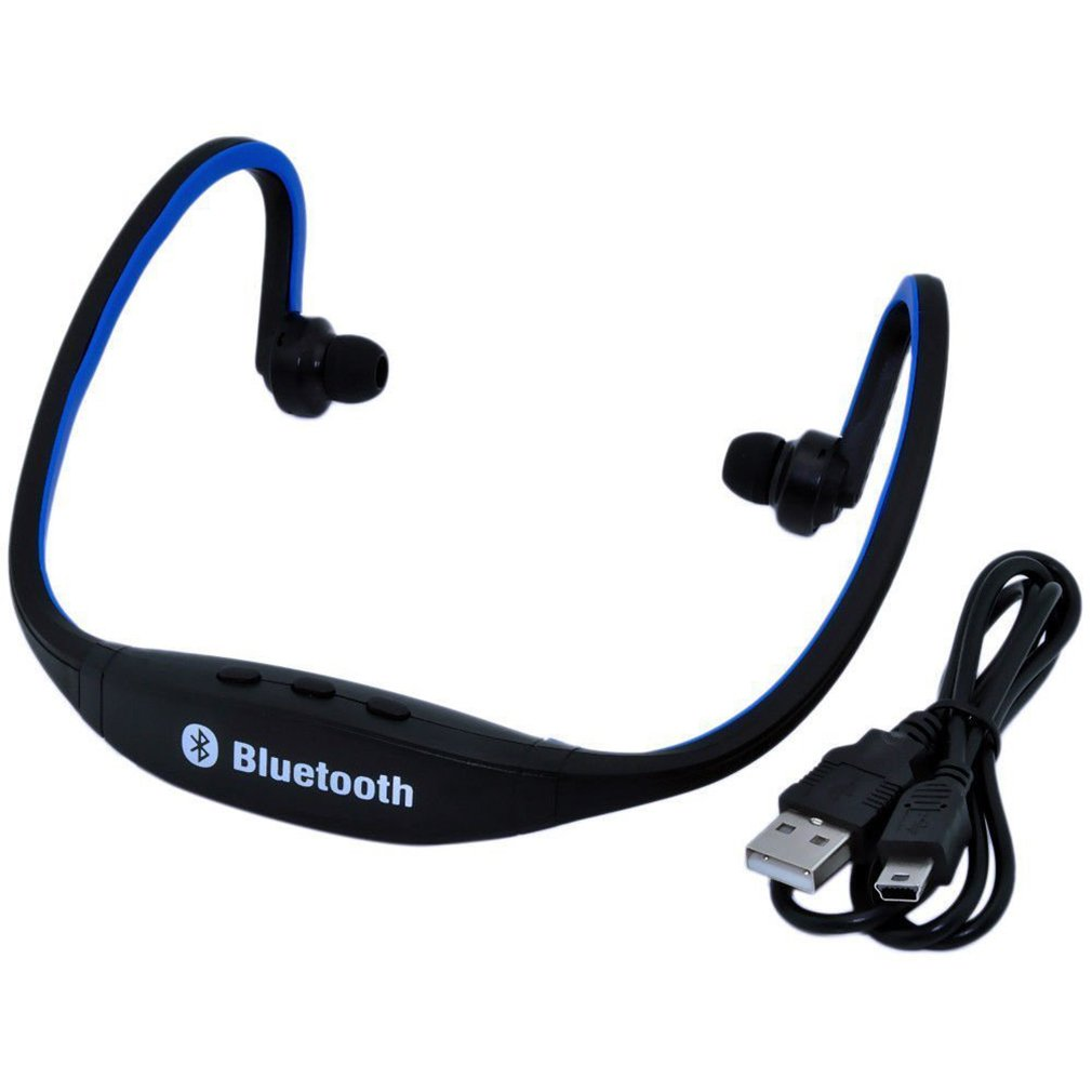 Portable Sport Wireless Bluetooth 3.0 Handfree Stereo Music Headset Headphone Earphone For Cellphone With Microphone