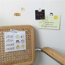 TOYOU Ins Cartoon Comic Dog Decorative Sticker Kawaii notebook Concise Wall Labels DIY Mobile Shell Sealing Stationery