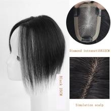 Xnaira Short Synthetic Bangs Heat Resistant Hairpieces Hair Women Natural Short Fake Hair Bangs Hair Clips For Extensions Black
