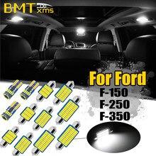 BMTxms Canbus vehículo LED Interior mapa cúpula luz en el maletero lámpara de placa de matrícula para Ford F-150 F-250 F350 F 150, 250, 350, 1992-2020