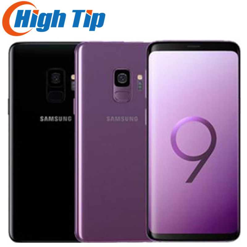 Оригинальный разблокированный сотовый телефон SSamsung Galaxy S9 G960U G960F, LTE, Android, Восьмиядерный, 5,8 дюйма, 12 Мп, 4 Гб ОЗУ, 64 Гб ПЗУ, Snapdragon 845, мобильный те...