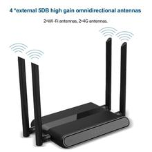 4G Wireless Wifi Router 300Mbps 4Port Router with SIM Card USB WAP2 802.11n/b/g 2.4G Router 10*100M Wireless Wifi Repeater Up to
