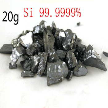 20 grams of 99.9999% high quality and purity silicon metal monocrystalline block 1 order