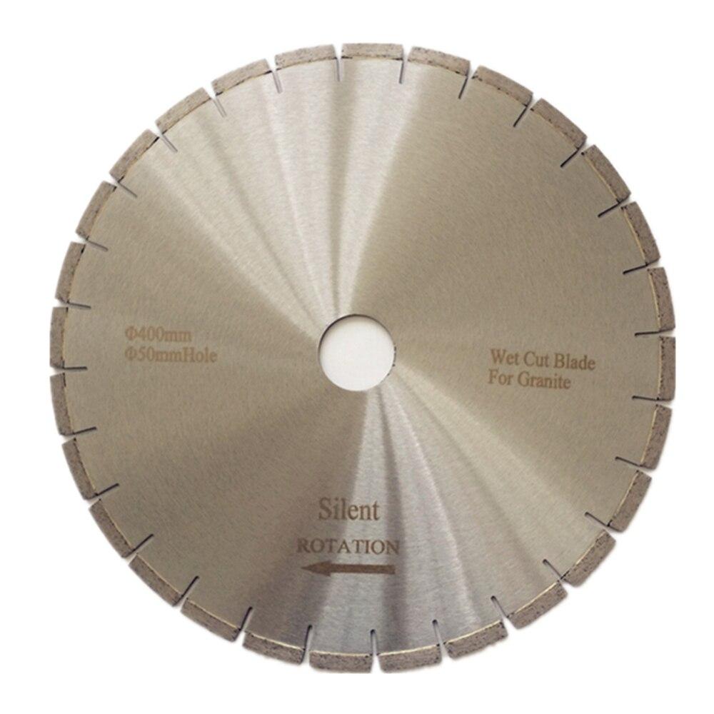 DB22 Top Quality Silent Diamond Saw Blades 16 Inch Wet Cutting Blades Smooth Cutting Disc For Granite Slab 1PC