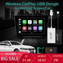 Carlinkit Carplay A3 беспроводной Apple Carplay Adaptador Android авто ключ для воспроизведения автомобиля Автотелевизор автомобиль wifi IOS gps MIMI Зеркало Ссылка