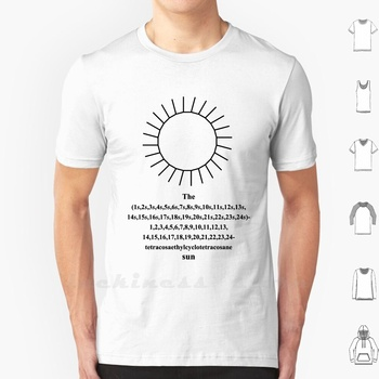 Funny Sun - Iupac - Chemistry - Black T Shirt Cotton Chemist Chemistry Iupac Nomenclature Marcel Wirth Pupil Student Professor image
