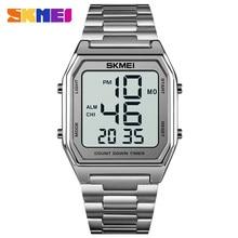 Original Brand Men's Watches Fashion SKMEI Business Electronic Watch Led Light Chronograph Digital Clock Man Wristwatch For Gift