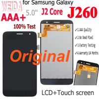 Originele Lcd Voor Samsung Galaxy J2 Core 2018 J260 J260F/Ds J260G/Ds Lcd-scherm Touch Digitizer Vergadering voor Samsung J2 Core Lcd