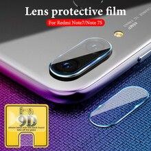 For redmi note 8 7 6 5 k20 pro 8t 9D Phone Camera Protective Lens For Xiaomi redmi 7 7a 6 6a Camera Transparent Protector Film