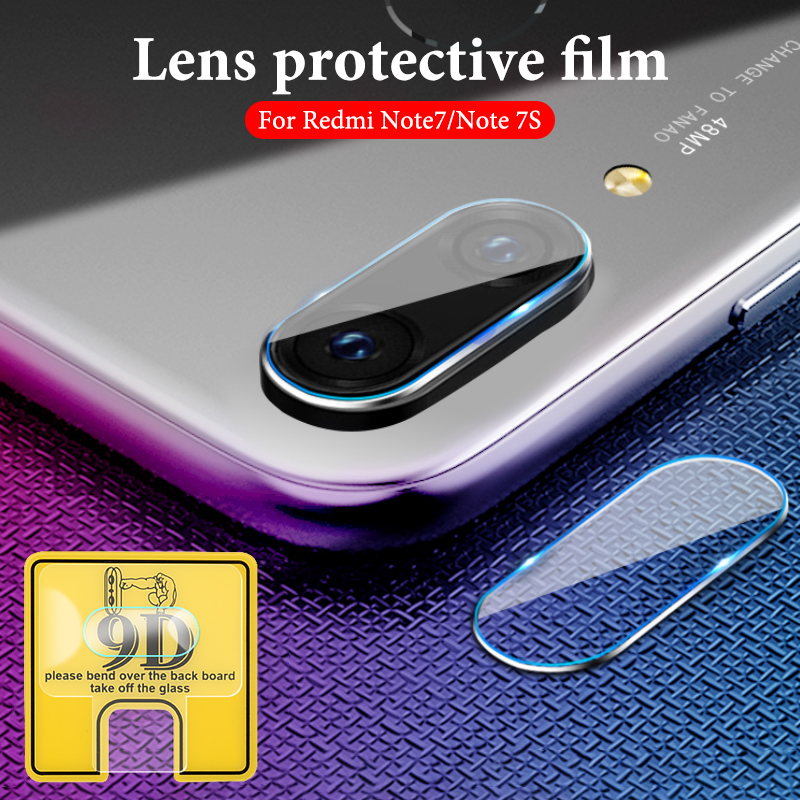 For Redmi Note 7s 7 6 5 K20 Pro 9D Phone Camera Protective Lens For Xiaomi Redmi 7 7a 6 6a K20 Camera Transparent Protector Film