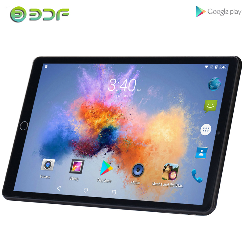 10.1 Inch Tablets Android 7.0 Quad Core 3G Phone Call 32GB Wi-Fi Bluetooth 4.0 Dual SIM Support Tablet PC