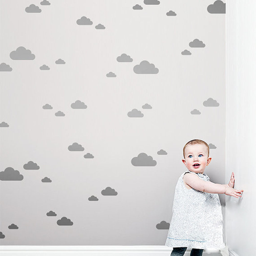 Cloud Kids Room Baby Room Wall Stickers Children Home Decor Nursery Girl Room Wall Decals Wall Stickers For Kids Room Wallpaper