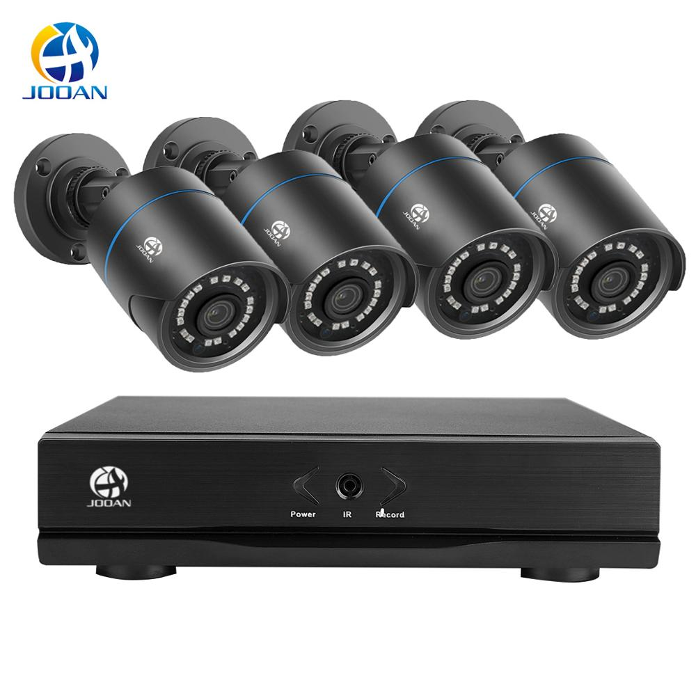 CCTV Security Camera Video Surveillance System Video Recorder 4CH DVR AHD Outdoor Kit Camera 720P 1080P HD Night Vision 2MP Set