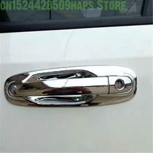 Estilo do carro para chevrolet optra lacetti daewoo nubira 2005-2008 adesivos chrome maçaneta da porta exterior capa alça tigela guarnição