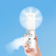 Handheld Mini Fan Water Spray Mist Multifunction lovely Portable Electric USB Rechargeable Air Conditioning Humidfiying Spr