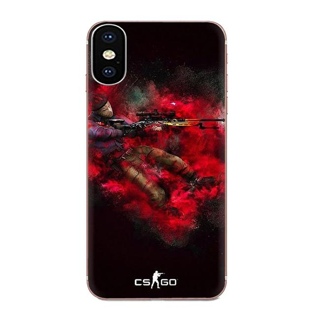 For Huawei Honor 4C 5A 5C 5X 6 6A 6X 7 7A 7C 7X 8 8C 8S 9 10 10i 20 20i Lite Pro Back Skin Colorful Cs Go Game