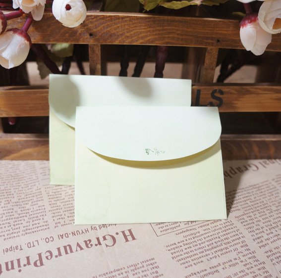 Retro Chinese-style High Quality Mini Envelope Of Fresh Small Tree