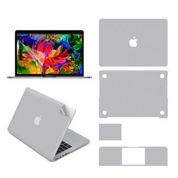 Naklejka na całe ciało dla 13-cal MacBook Air (A1369/A1466), to góra + dół + Touchpad + podpórka dla dłoni skóry + ochraniacz ekranu