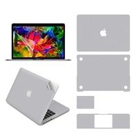 Volle Körper Aufkleber für 13 zoll MacBook Air (A1369/A1466)  enthalten Top + Bottom + Touchpad + Palm Rest Haut + Screen Protector auf