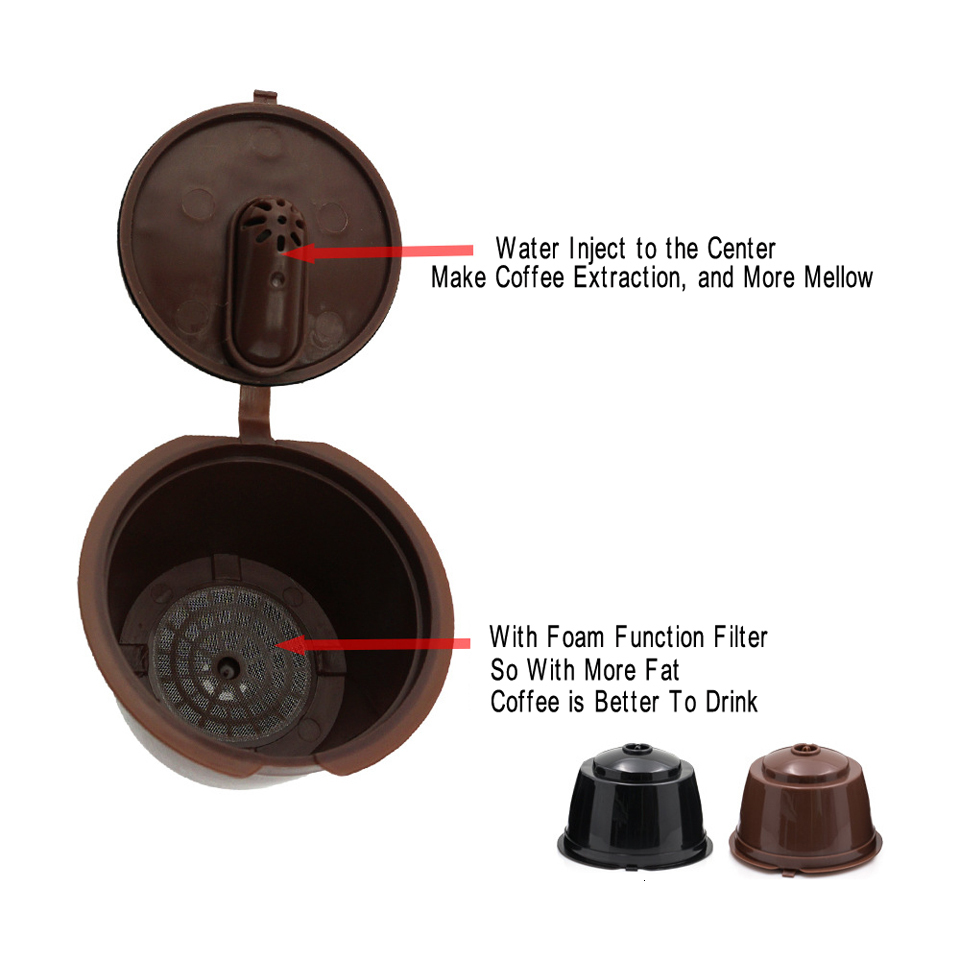 Dolce Gusto Coffee Filter Capsula Reutilizavel Capsulas De Cafe Recargables Reusable Capsule Reutilizables