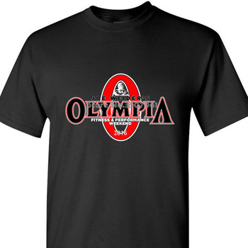 Hot Mr Olympia Bodybuilding Fitness T Shirt Tee Loose Brand Clothihng Top Quality Fashion Looses 100%Cotton Coat Tops