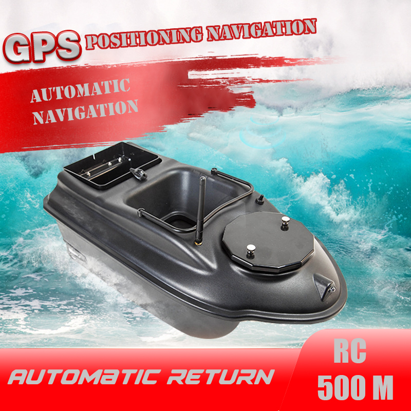 GPS RC Bait Boat 6 big Function Remote Control Fishing Finder Boat 3KG 500M Night Light Lure Fishing Smart One-Key Return toy