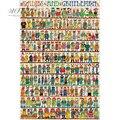 Michelangelo Holz Puzzles 500 1000 1500 2000 Stück Damen und Herren Cartoon Tiere Pädagogisches Spielzeug Malerei Decor-in Puzzles aus Spielzeug und Hobbys bei