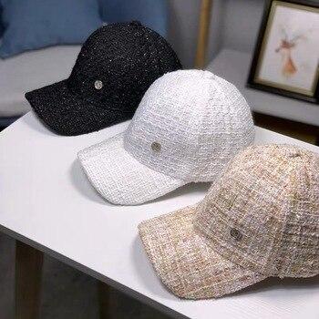 Little Xiangfeng hat, cap with duck tongue, women's thin face baseball cap