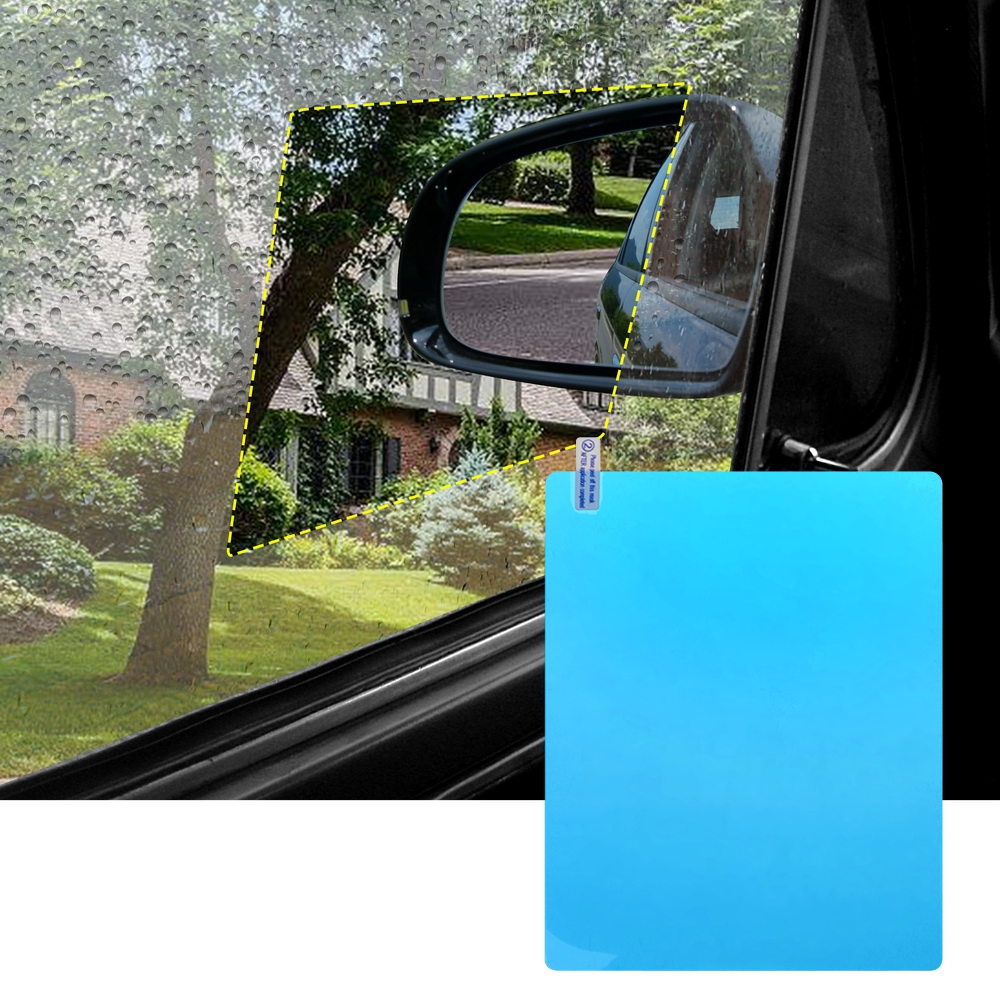 Image 5 - 1Set Car Side Window Protective Film Waterproof Rainproof Anti scratch Film Of Auto Accessoires