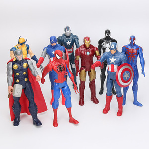 """Image 2 - 12"""" 30CM Black Suit hero Action Figure Toy Collectible Model Toy"""
