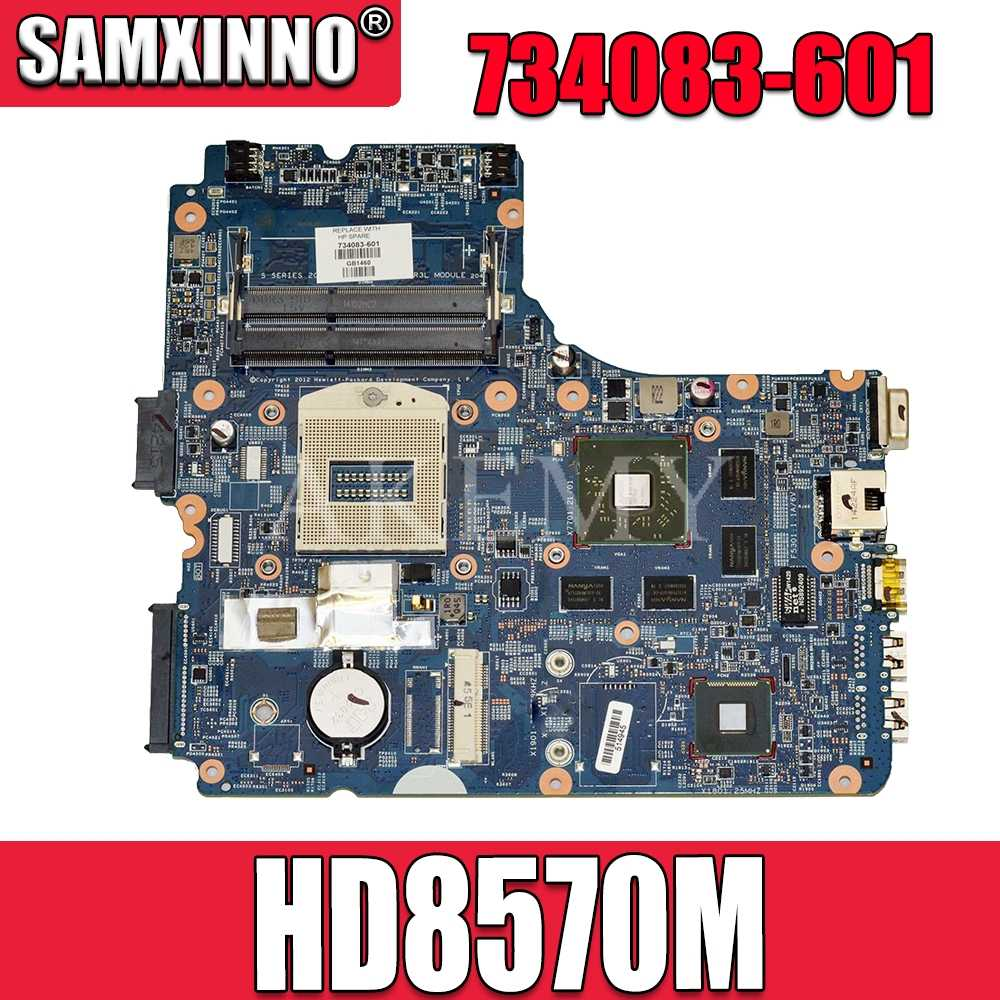 734083-001 734083-601 734083-501 Mainboard Para For HP ProBook 450-G1 450 440 470 G1 PC Motherboard 48.4YW03.011 hd8570m gpu