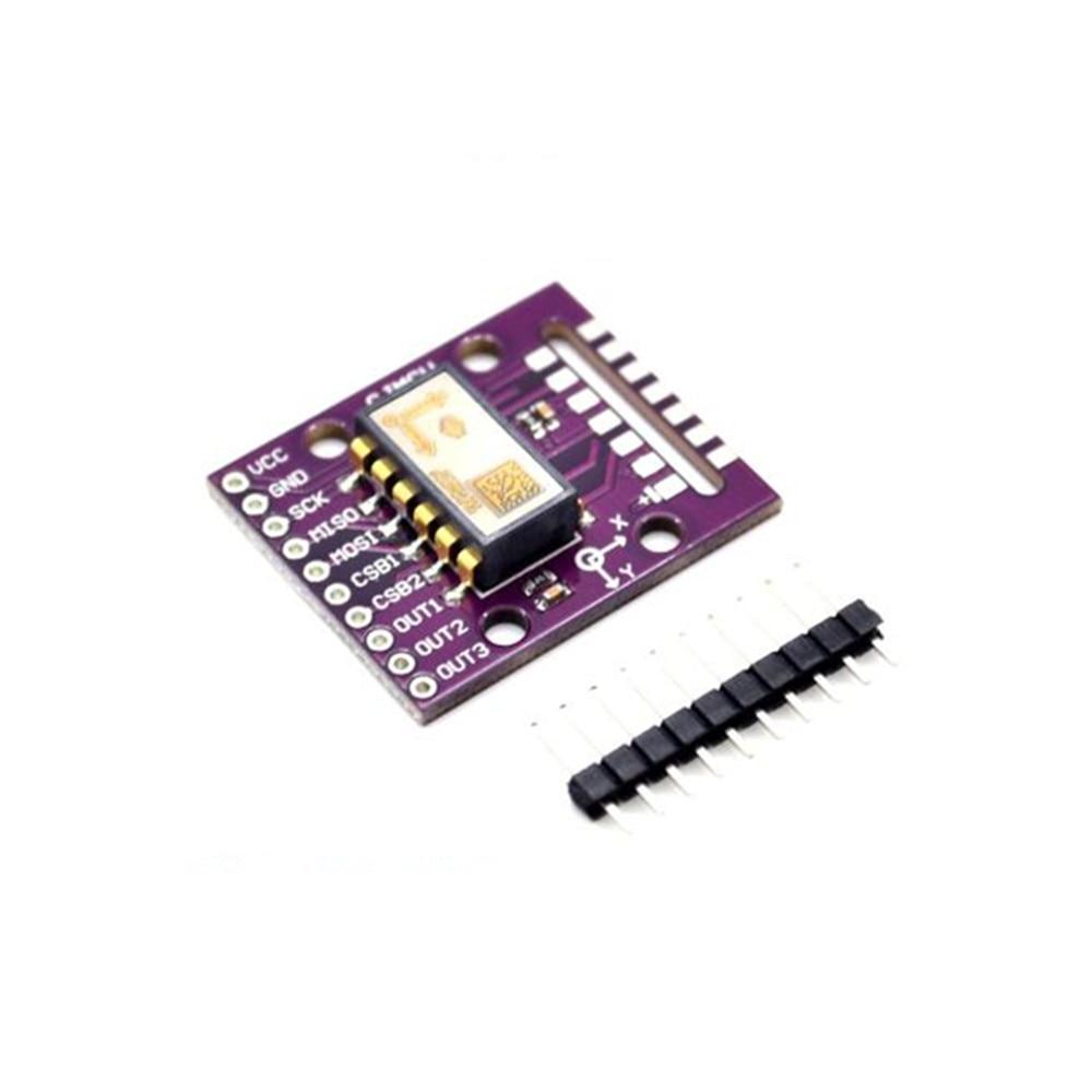 Taidacent Mini Digital Car Protractor Inclinometer Spi Angle Sensors Sca100t Module Dual Axis Tilt Sensor Module SCA100T-D02