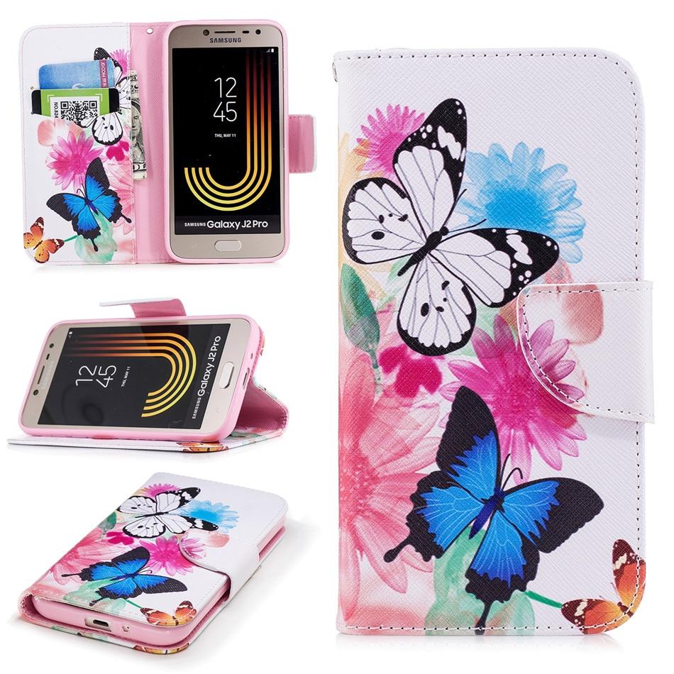 Phone Cover Flip Retro Case For Samsung Galaxy M20 M10 S9 S10E S10 Plus A3 A5 J3 J5 J7 2017 2016 Card Wallet Leather Capa D07G
