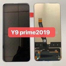 Preto original 6.59 polegada para huawei y9 prime 2019 STK LX1 honra 9x STK L21 display lcd touch screen digitador assembléia peças + ferramenta
