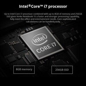 Image 2 - VORKE Notebook 15 Ultrathin SSD Laptop Intel Core i7 4500U  i5 8250U 15.6 Screen 1920*1080 Windows 10 8GB DDR3 256GB SSD