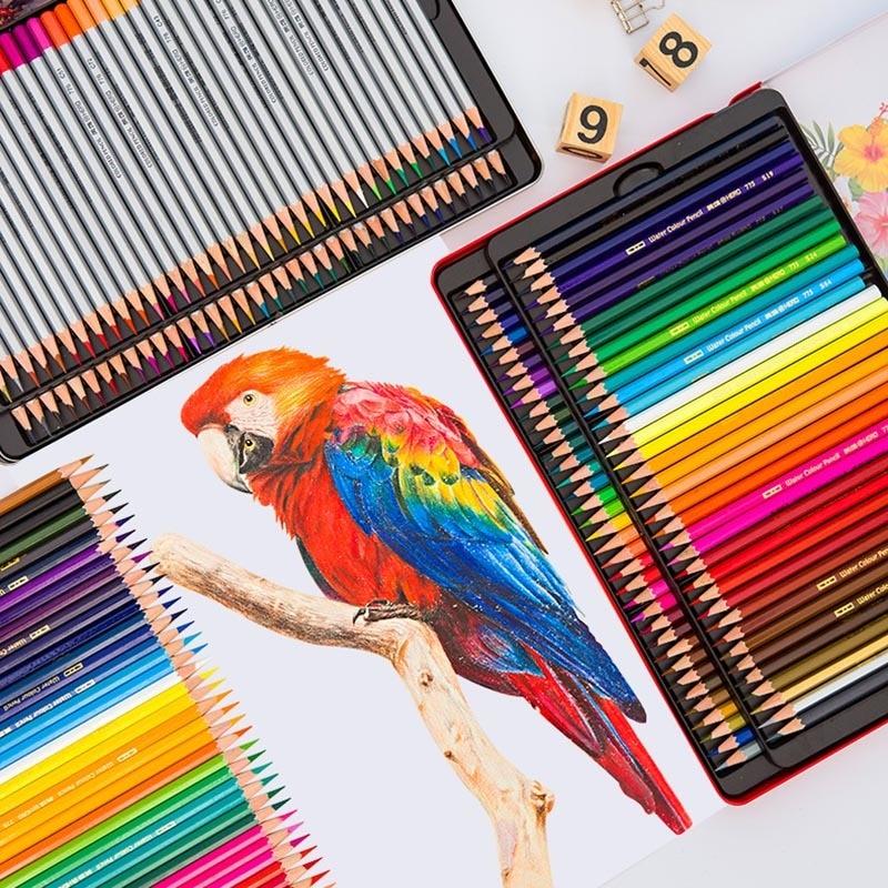 Colored Pencils Lapis De Cor Artist Painting Watercolor Pencils Lapis Color Professional Kawaii Colorful Crayons 05861