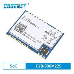 LoRaWAN SoC ASR6501 868MHz 915MHz LoRa Module 22dBm Wireless Transceiver SMD IPEX Stamp Hole Connector TCXO RF Radio