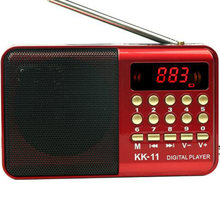 Цифровое радио портативное мини fm динамик музыкальный плеер