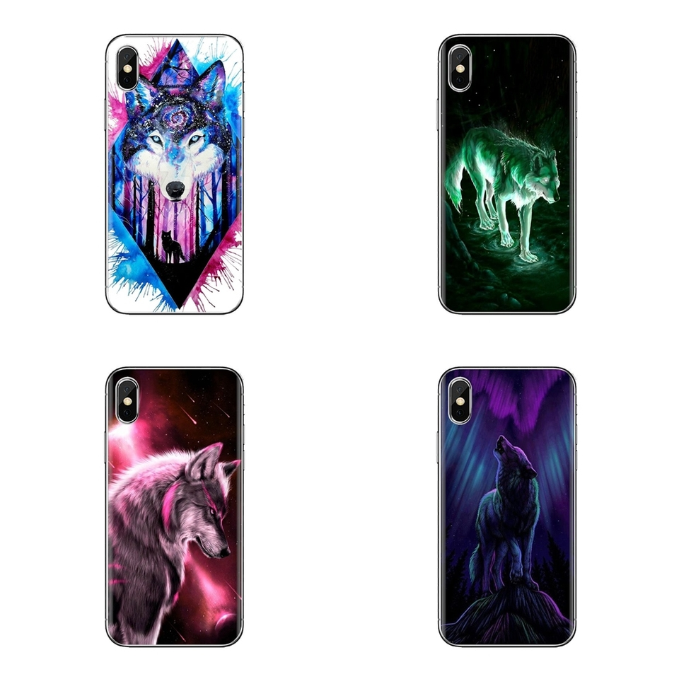 Anime Galaxy Wolf 2 Soft Transparent Shell Covers For Samsung Galaxy S3 S4 S5 Mini S6 S7 Edge S8 S9 S10 Plus Note 3 4 5 8 9 Fitted Cases AliExpress