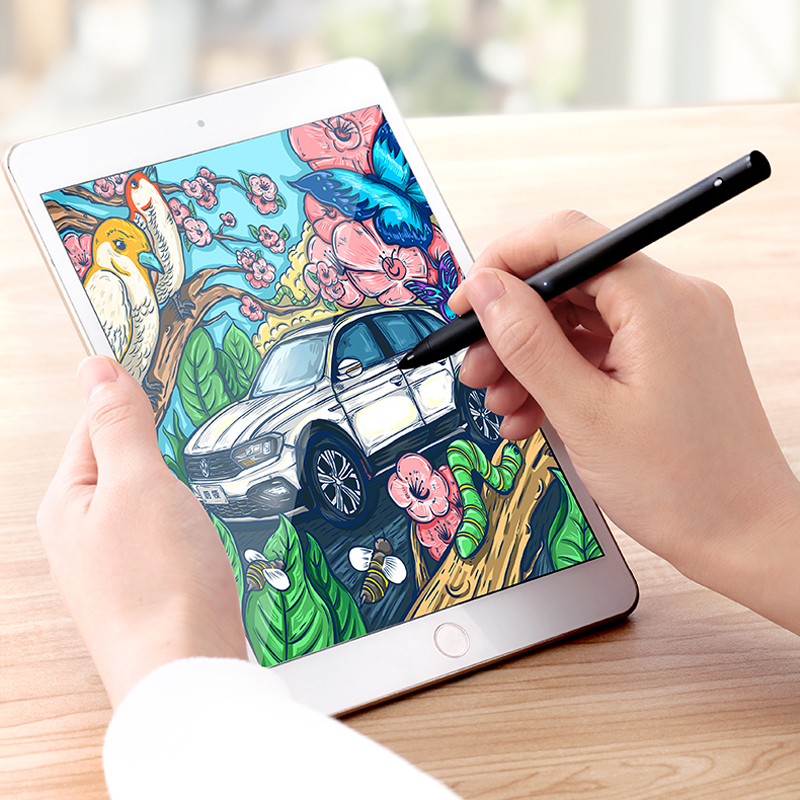 Natrberg Stylus Pen For IPad Penoval High-Precision Pencil For IPad Pro Tablet IPhone Android Mobile Phone Highly Responsive