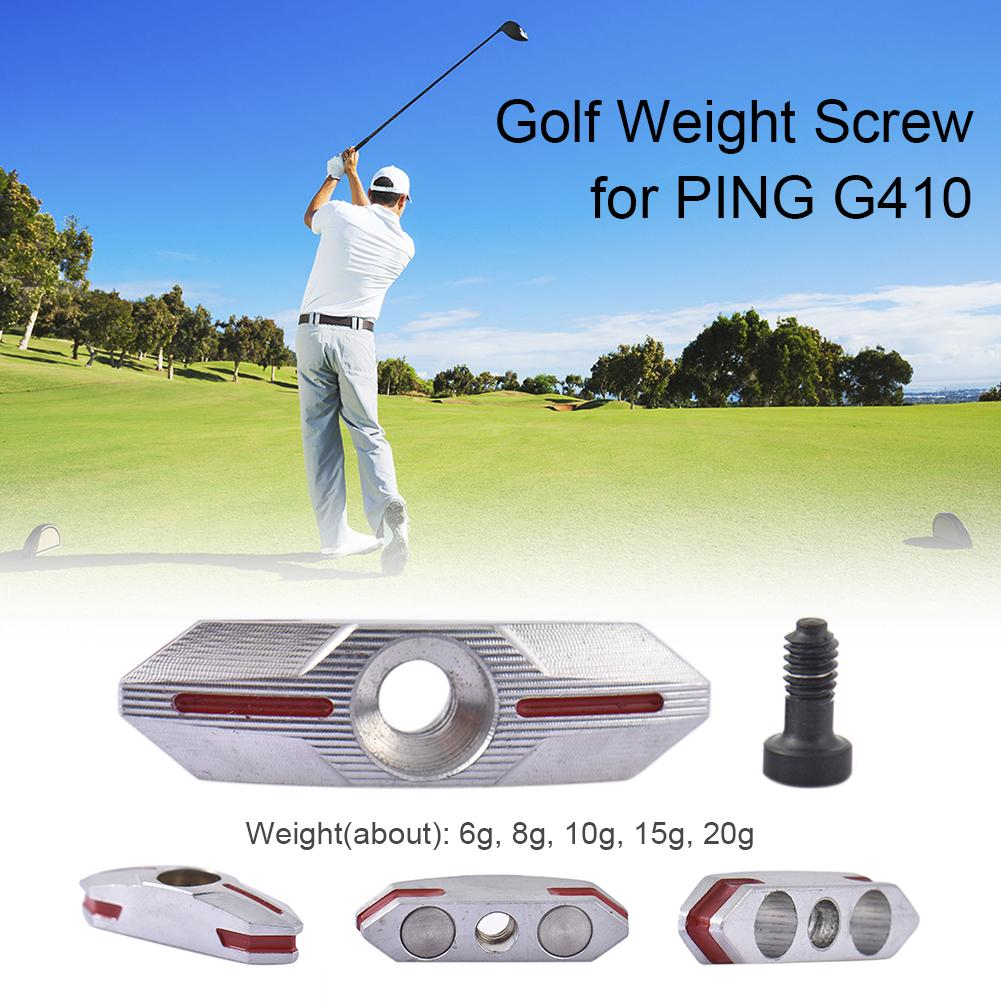 Golf Weight Screw Aluminum Alloy,Stainless Steel Counterweight Screw 6G 8G 10G 15G 20G For PING G410 Golf Club Driver Accessorie