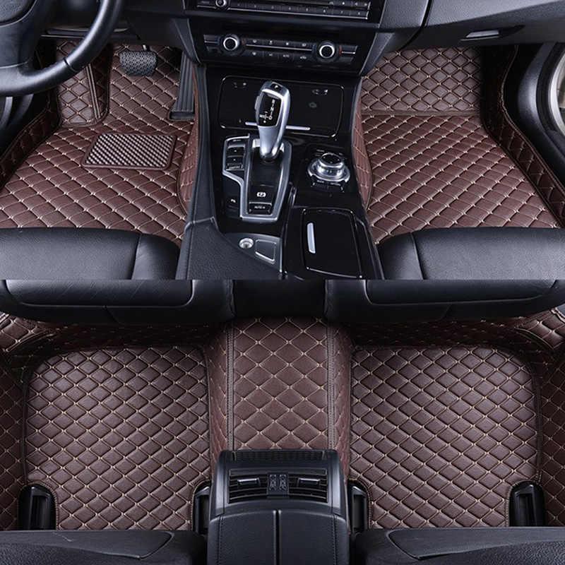Car Floor Mats For Honda Civic 10th Sedan 2016 2017 2018 2019 Car