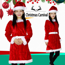 Wholesale 2019 New Christmas costume thickening Santa Claus dancing costumes adult womens clothing
