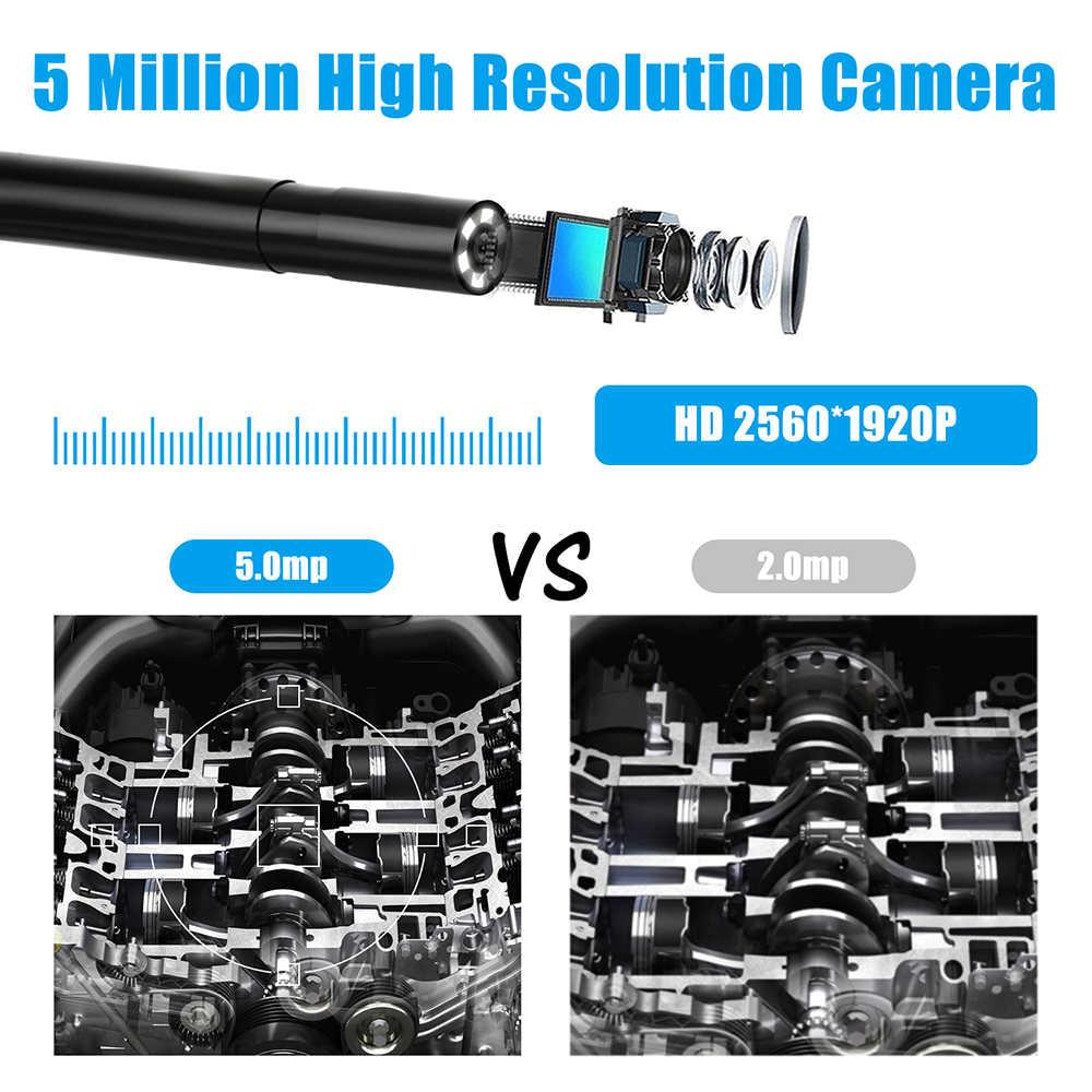 F220 5.5 Mm Industriële Endoscoop Wifi Borescope Inspectie Camera Ingebouwde 6 Leds IP67 Waterdicht Voor Ios/Android smartphones