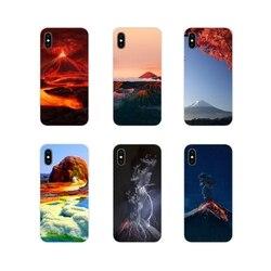 Чудеса природа вулкан для Apple iPhone X XR XS 11 12Pro MAX 4S 5S 5C SE 2020 6 S 7 8 Plus ipod 5 6 мягкий прозрачный просвечивающийся Чехол Чехлы