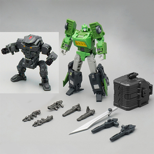 Image 1 - MechFansToys MFT MS01 MS 01 Springer Assault Soldiers Samurai Spring Transformation Action Figure MS01 MS 01 MP