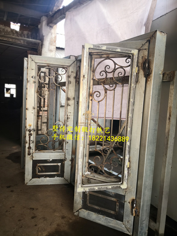 Shanghai Hench Brand China Factory 100% Custom Made Sale Australia Used Wrought Iron Doors For Sale