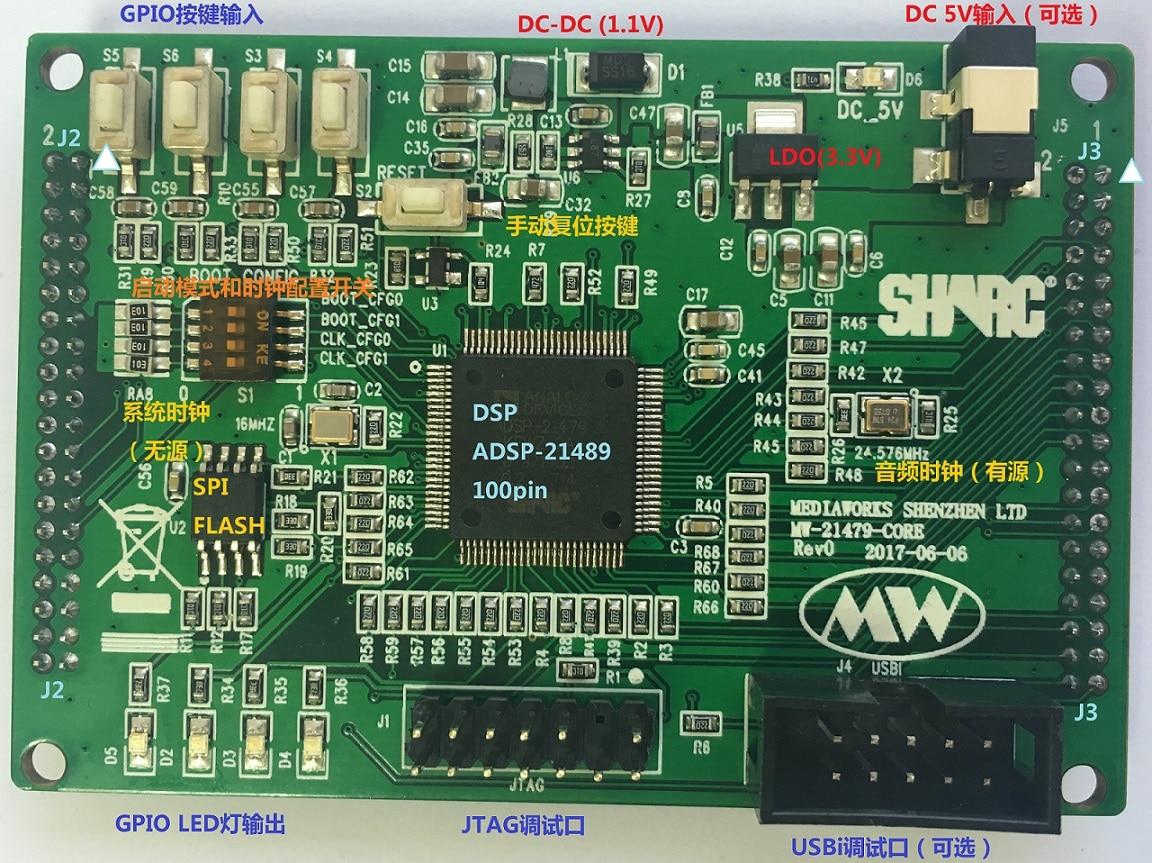 SHARC DSP 21479 Core Board