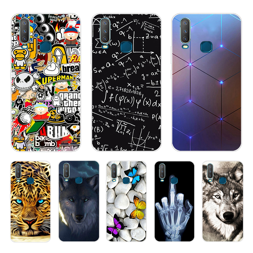 6.35'' For <font><b>Vivo</b></font> Y17 Y15 Y12 <font><b>Y3</b></font> <font><b>Case</b></font> Soft TPU Phone <font><b>Case</b></font> For <font><b>VIVO</b></font> Y 17 Y 15 Y 12 Y 3 Back Cover <font><b>Case</b></font> Silicone Coque Cool Funda image