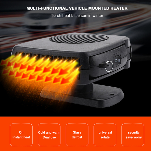 Universal 12-24V Auto Heizung Luftkühler Wärmer Tragbare Automobil Heizung Gerät Defroster Remover Tragbare Auto Heizung Fan